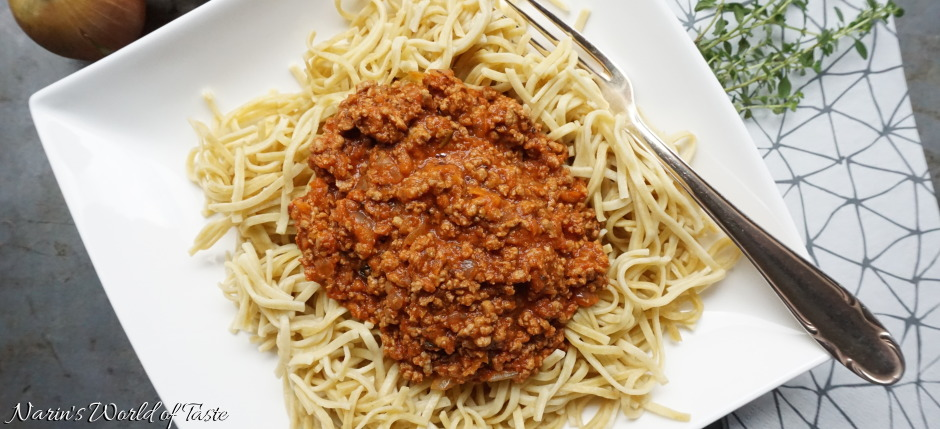 Bolognese Sauce for Spaghetti or Lasagne