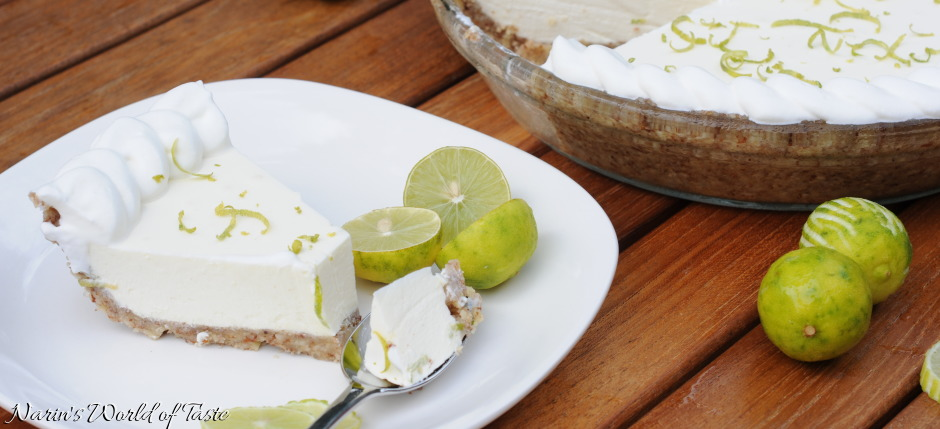 Carb-Free Key Lime Cheesecake