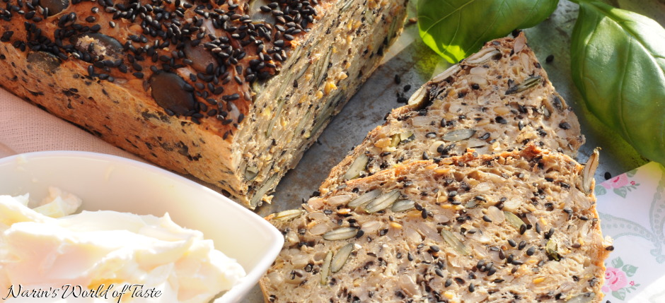 Carb-Free Multi-Seed Bread