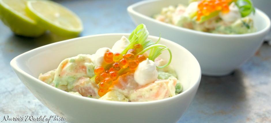 Salmon Horseradish Tartare