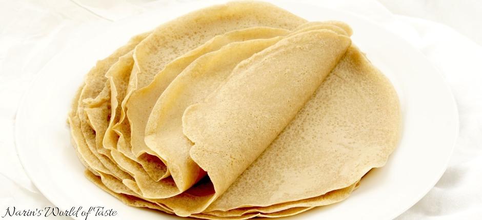 Buckwheat Curry Tortillas